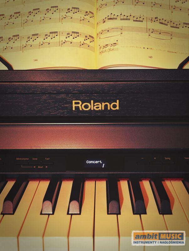 Roland HP-504 RW, pianino cyfrowe