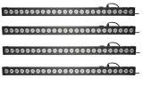 FRACTAL 4-PACK BAR LED 24x3W 4 x listwa belka