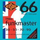 Roto FM66 – 4 struny bas [30-50-70-90] stalowe