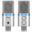 IK Multimedia iRig Mic Studio Silver - Mikrofon pojemnościowy