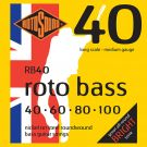 Roto RB40 - 4 struny bas [40-100] niklowane