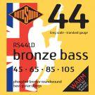 Roto RS44LD - 4 struny bas [45-105] stalowe