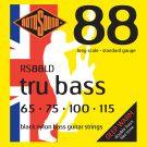 Roto RS88LD - 4 struny bas [65-115] czarny nylon