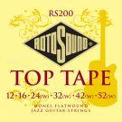 Roto RS200 - 6 strun Top Tape [12-52] stalowe