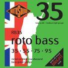 Roto RB35 - 4 struny bas [35-95] niklowane