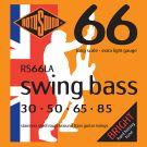 Roto RS66LA - 4 struny bas [30-85] stalowe