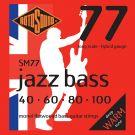 Roto SM77 - 4 struny bas [40-100] monelowa