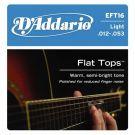 D'Addario EFT 16, struny do git. akustycznej