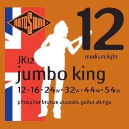 Roto JK12 – 6 strun akust. [12-54] brąz fosforowy