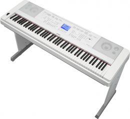 Yamaha DGX-660 WH, pianino cyfrowe z funkcjami keyboardu