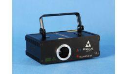 Fractal Lights FL 400 RGB Laser Wzory Kolory
