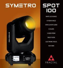Fractal Lights SYMETRO SPOT 100 głowa ruchoma