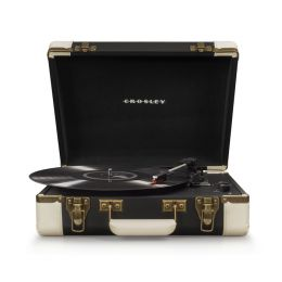 CROSLEY Executive Black – Przenośny gramofon