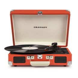 CROSLEY Cruiser Deluxe Orange – Przenośny gramofon