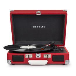 CROSLEY Cruiser Deluxe Red – Przenośny gramofon