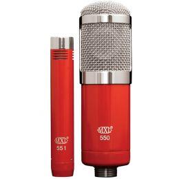 MXL 550/551 - mikrofony pojemnościowe