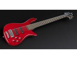 Warwick Rockbass Streamer LX 5 String Metallic Red High Polish