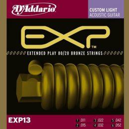 D'Addario EXP 13, struny do git. akustycznej
