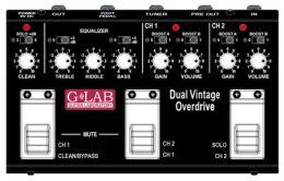 G-Lab Dual Vintage Overdrive DVO, efekt gitarowy