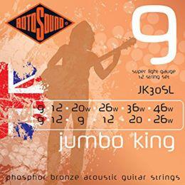 Roto JK30SL – 12 strun akust. [9-26, 9-46] brąz