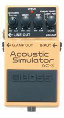 BOSS AC-3, efekt gitarowy