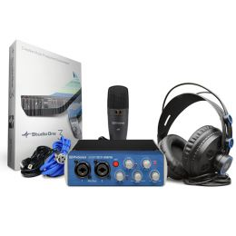PreSonus AudioBox USB 96 Studio, zestaw