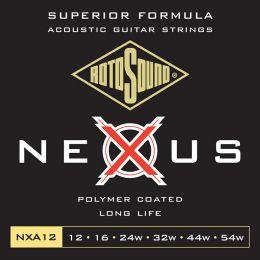 Roto NXA12 – 6 strun akust. [12-54] brąz fosforowy