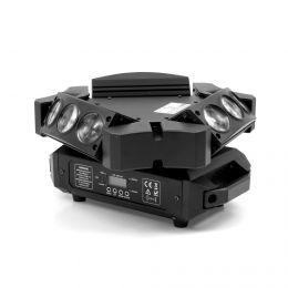 Flash- Butrym  LED Mini Głowica Ruchoma 9x12W Spyder - 3-Stronna   -  MADE IN POLAND !!!