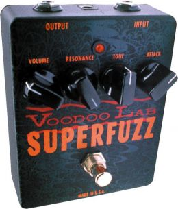 Voodoo Lab Superfuzz, efekt gitarowy