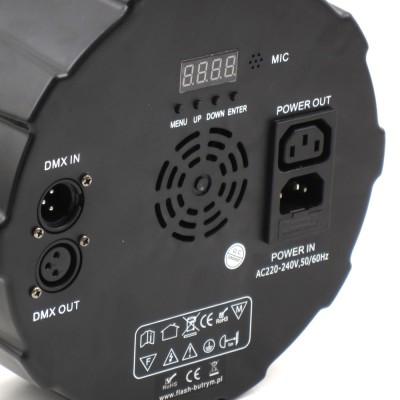 LED PAR 64 7x10W RGBW 4in1 ABS + RE