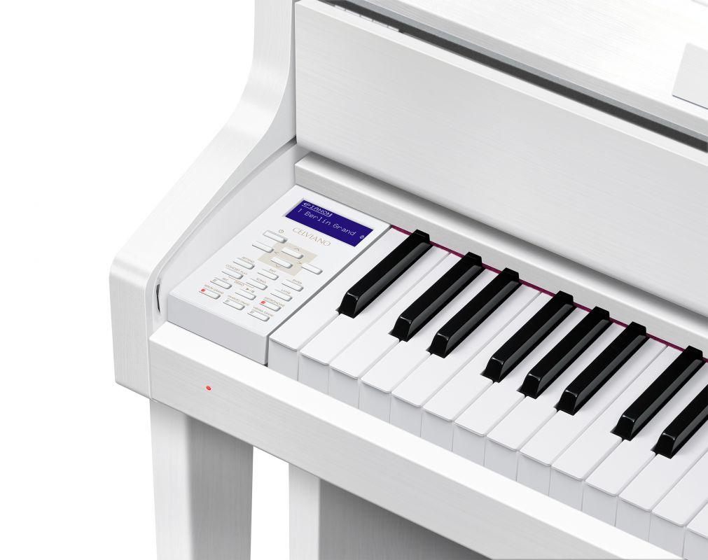 CASIO GP-310 WE  Hybrydowy instrument  o wyjątkowym poziomie realizmu