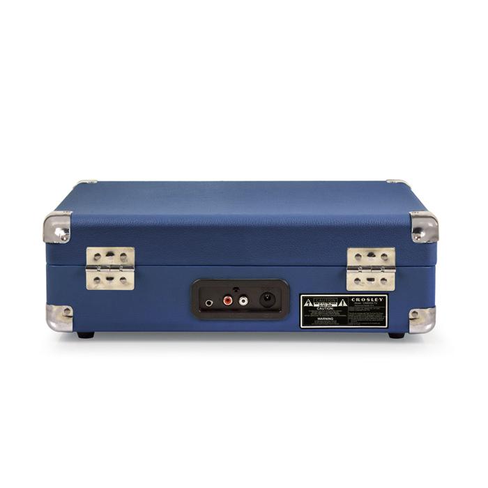 CROSLEY Cruiser Deluxe Blue – Przenośny gramofon