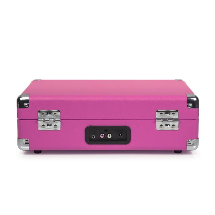 CROSLEY Cruiser Deluxe Pink – Przenośny gramofon