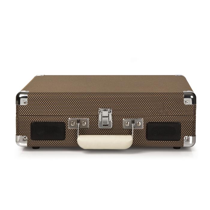 CROSLEY Cruiser Deluxe Tweed – Przenośny gramofon