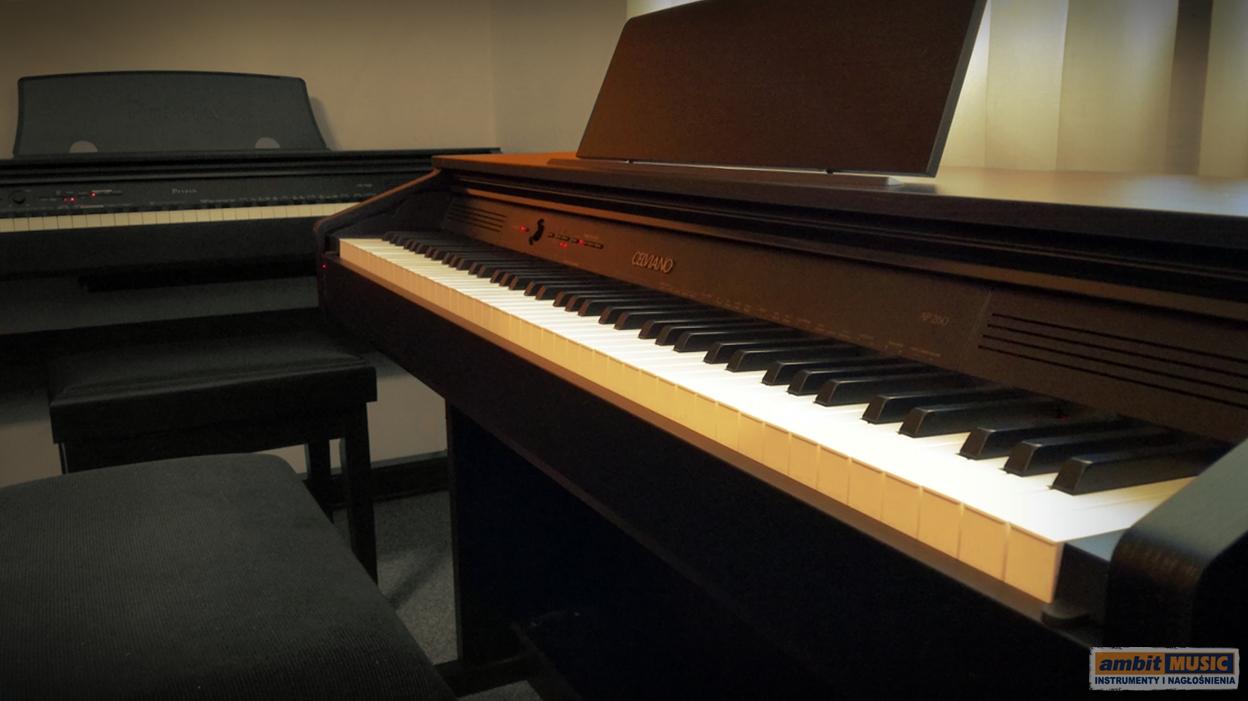 Casio AP-260 BK, pianino cyfrowe