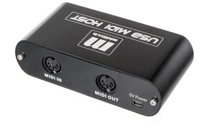 MIDITECH USB MIDI Host - Interfejs MIDI/USB
