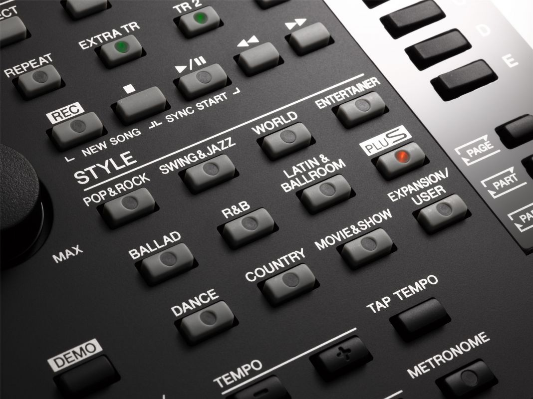 Yamaha PSR-S975, keyboard
