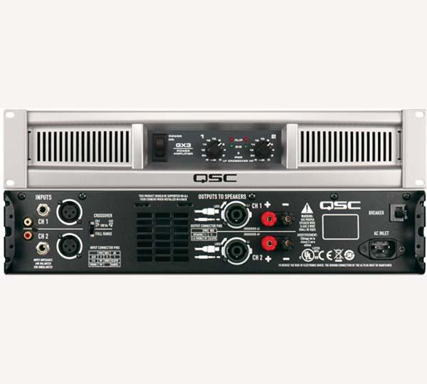 QSC GX 3, końcówka mocy