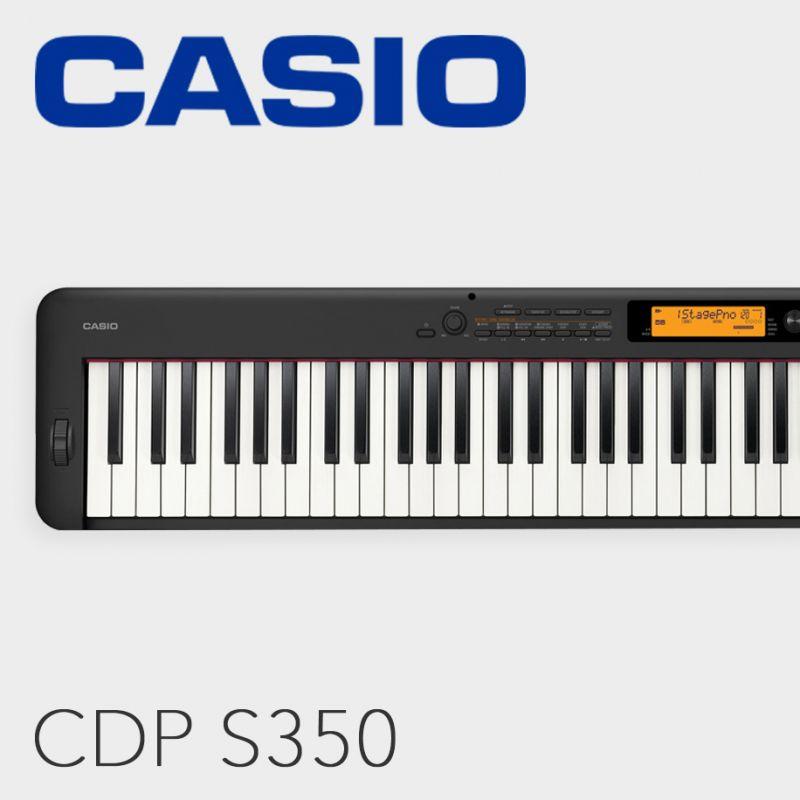 Casio CDP S350, przenośne pianino cyfrowe
