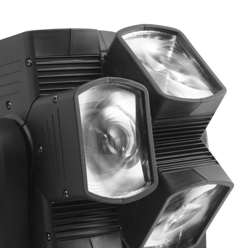 Flash- Butrym  LED MOVING HEAD DOUBLE X 120 8x15W   -  MADE IN POLAND !!!