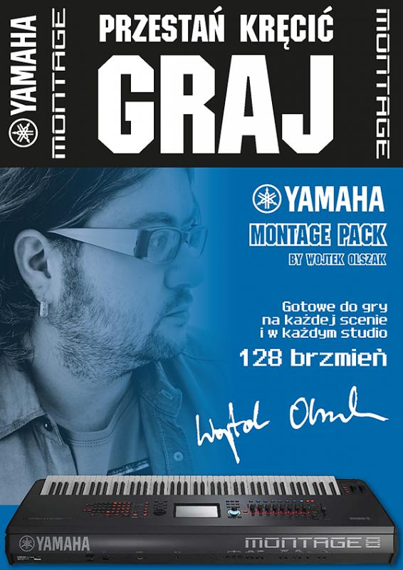 Yamaha MONTAGE 8 - PROMOCJA  W ZESTAWIE FC3 + FC7 !!!