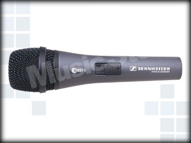 Sennheiser E835-S - Mikrofon dynamiczny, wokalny