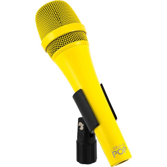 MXL POP LSM-9 żółty - Mikrofon dynamiczny