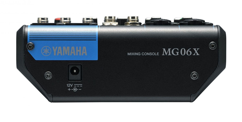 Yamaha MG 06 X, mikser